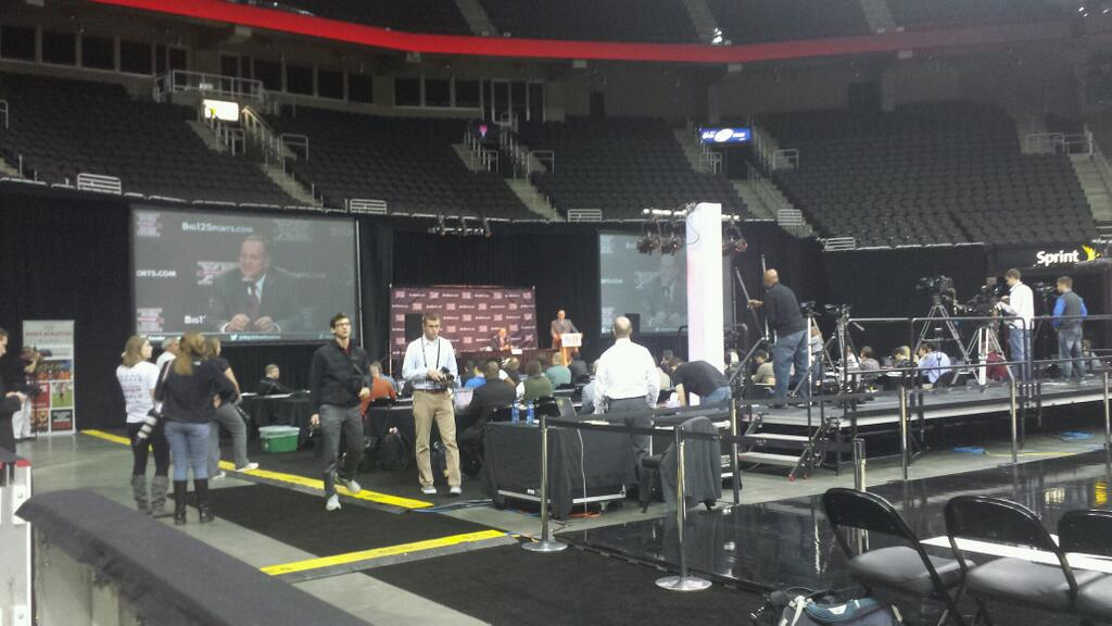 SID students visit Big 12 Media Day