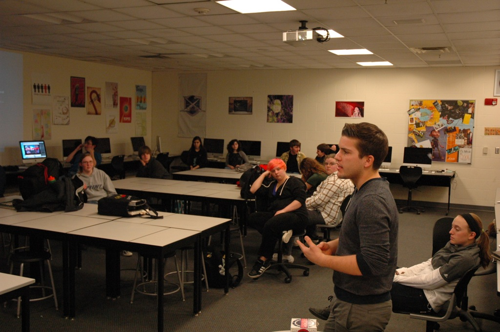 SCAD Visits Animation Students
