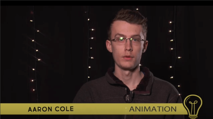 Introducing: Senior Aaron Cole (animation)