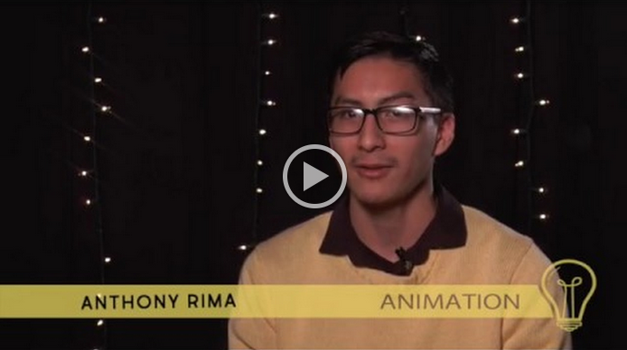 Introducing: Animation Senior Anthony Rima, and his 1st-place 3D model