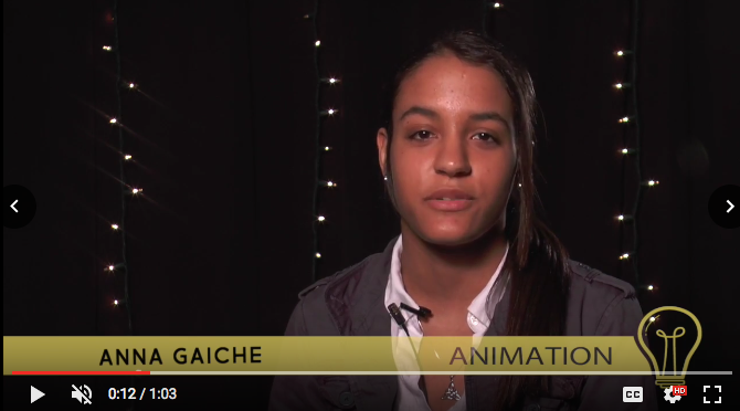 Introducing: Senior Anna Gaiche, Animation